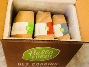 Hello Fresh Inside Box