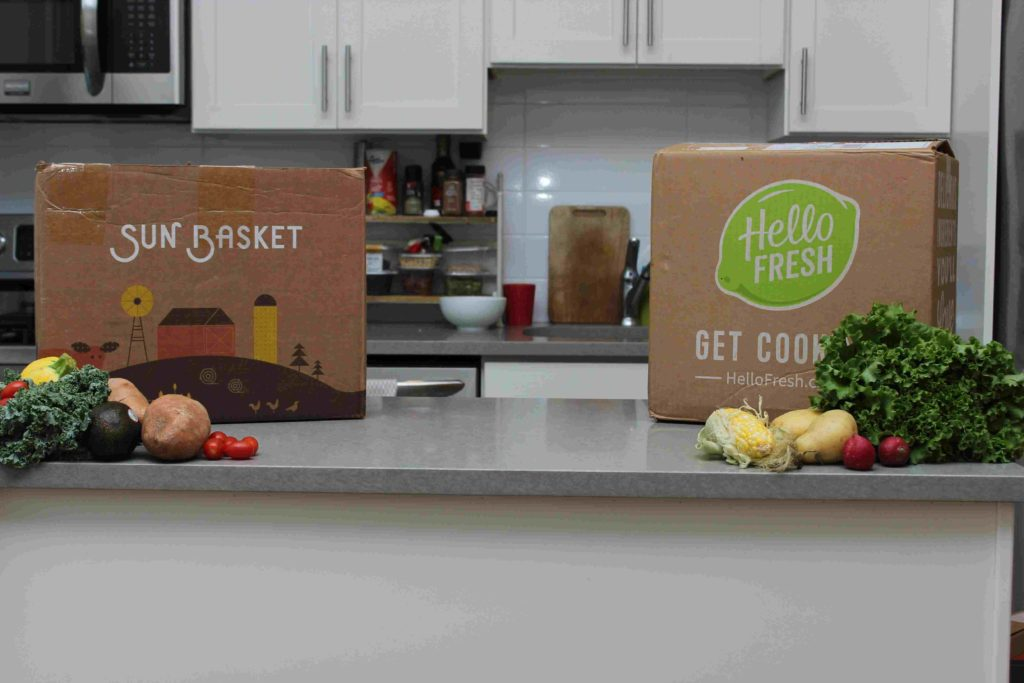 Sun Basket Vs Hello Fresh
