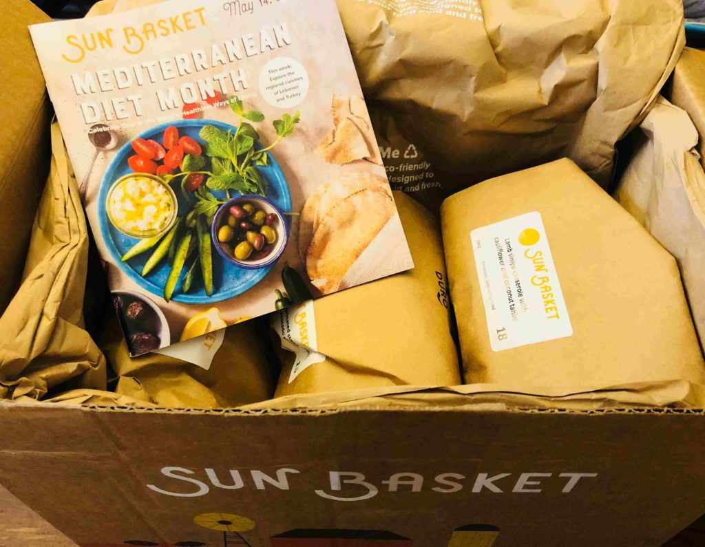 Inside Sun Basket Box