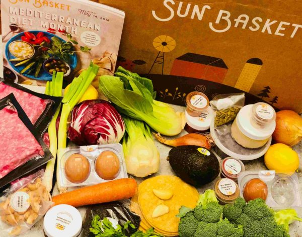 Sun Basket Ingredients