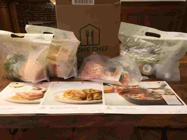 Home Chef Food Box