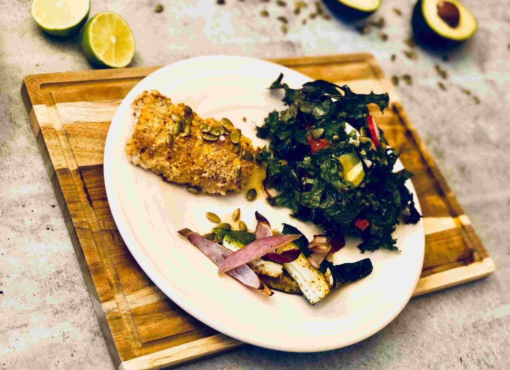Paprika -cumin cod by Green Chef