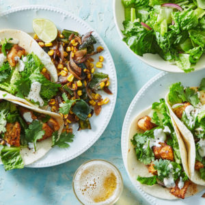 Chile-Spiced Fish Tacos