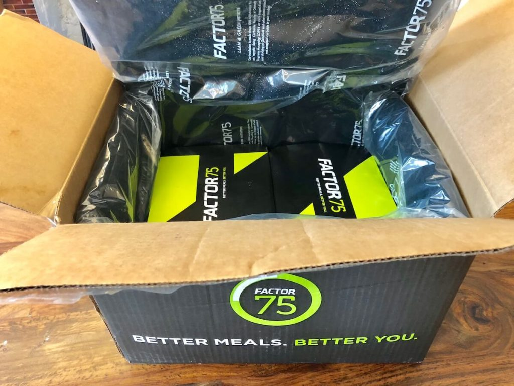 Factor75 box