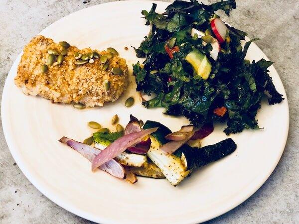 Green Chef's Paprika Cumin Cod