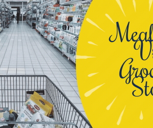 Meal Kits Vs Grocery Store