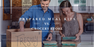 Prepared Meal Delivery Vs Grocery Store