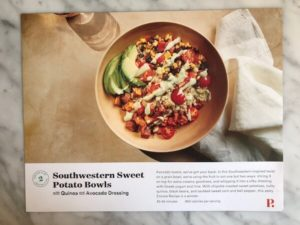 Southwestern Sweet Potato Bowl Plated