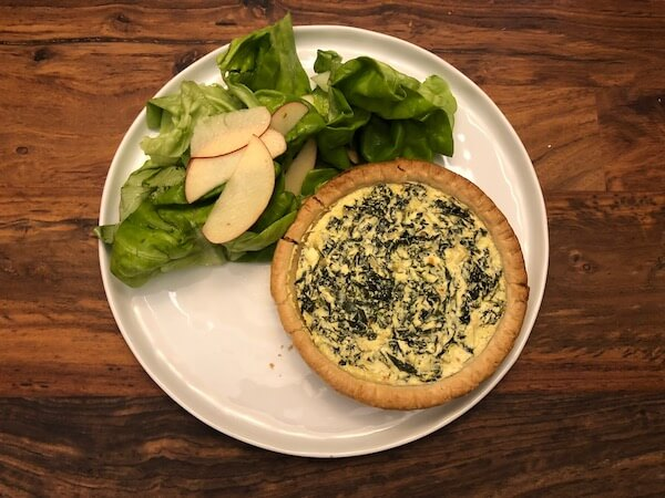kale and ricotta tarts Blue Apron