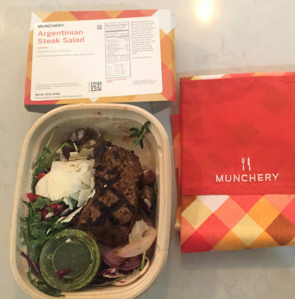 Steak_Salad by Munchery