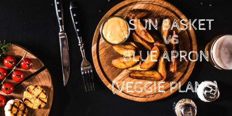 Sun Basket Vegetarian vs Blue Apron Vegetarian