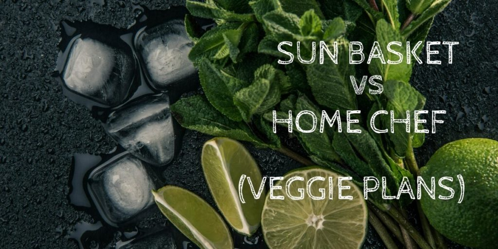 Sun Basket Vegetarian vs Home Chef Vegetarian