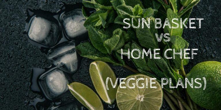 Sun Basket Vegetarian vs Home Chef Vegetarian