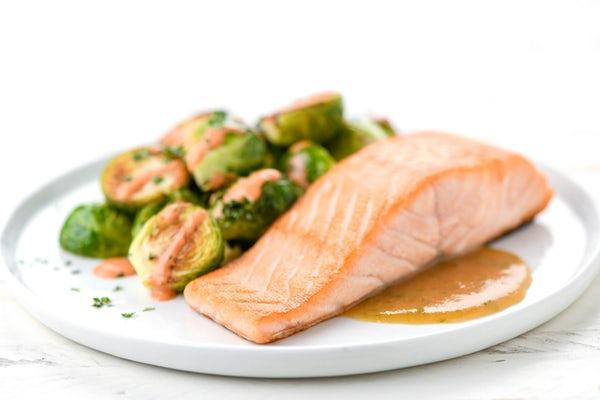 home chef Salmon dish