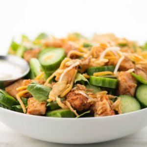 BBQ-Ranch Chicken Salad