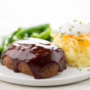 BBQ Beef Mini-Meatloaves
