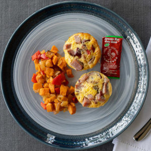 Meat Lover's Frittata Cups