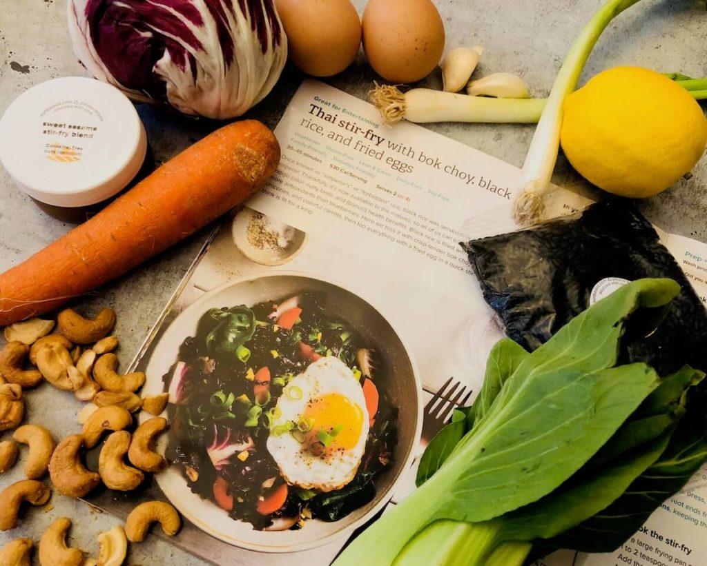 Sun Basket Vegetarian- all organic products