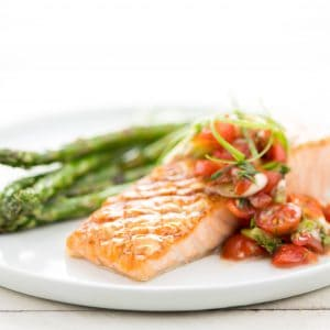 Grilled Honey-Mustard Salmon