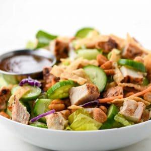 Thai Crunch Chicken Salad