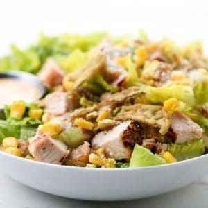 Chipotle Ranch Chicken Salad