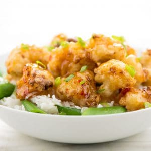 Thai Sweet Chili Fried Cauliflower
