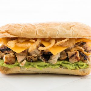 Chicken, Avocado, and Ranch Sandwich