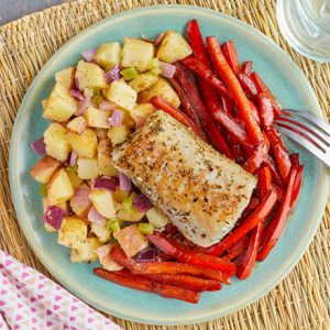 Herb-Seasoned Cod Fillets