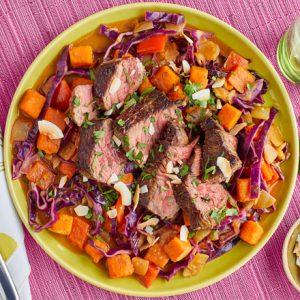 Steak & Sweet Potato Curry