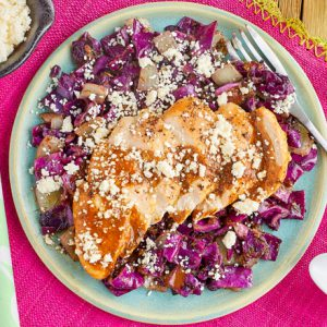 Smoky Chicken With Cotija