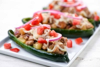 Chicken Poblano Peppers