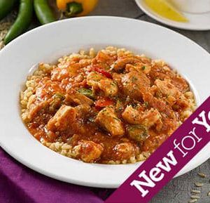 Chicken and Andouille Sausage Jambalaya