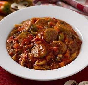 Italian Chicken Sauasge with Peppers