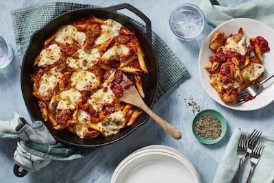 Melty Mozzarella Chicken Pomodoro Bake