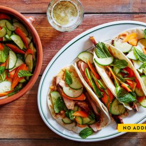 Pork Banh Mi Tacos