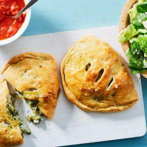 Cheesy Broccoli Pizza Pockets