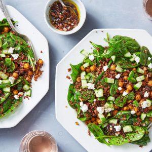 Crispy Chickpea & Quinoa Salad