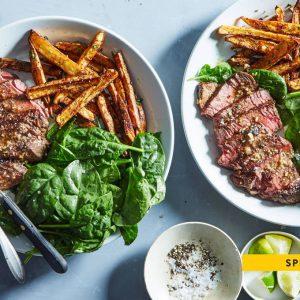 Garlic-Lime Marinated Steak