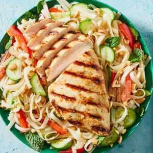 Asian Chicken & Veggie Salad