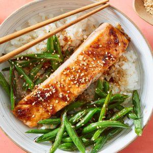 Teriyaki-Glazed Salmon
