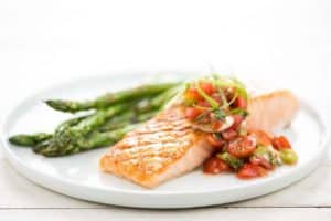 home chef salmon low calorie