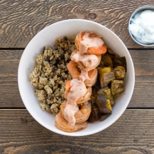 Cajun Shrimp Bowl