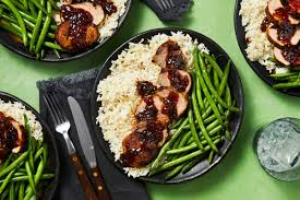 Apricot Balsamic-Glazed Pork Tenderloin Hello Fresh