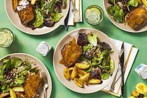 Maple and Mustard-Glazed Pork Chops Hello Fresh