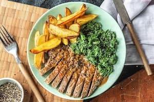 Peppercorn steak Hello Fresh