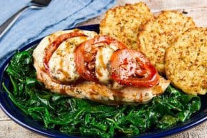 MARGHERITA CHICKEN BREAST home chef