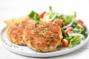 NEW ENGLAND STYLE FISH CAKES home chef