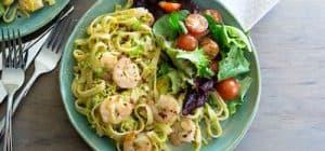 SHRIMP SCAMPI green chef