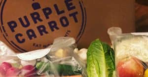 purple carrot review box