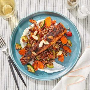 Spanish-Spiced Salmon blue apron